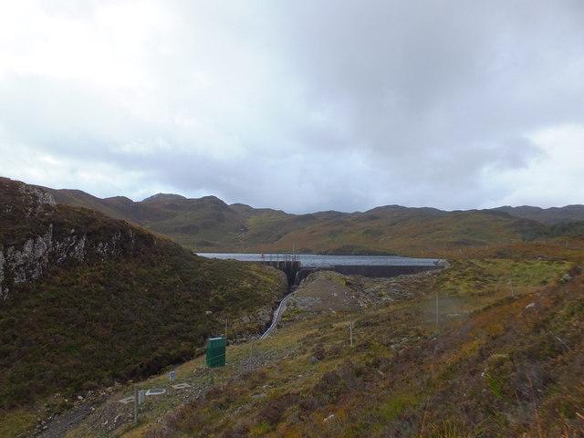 Dam, Loch a' Choire Leith