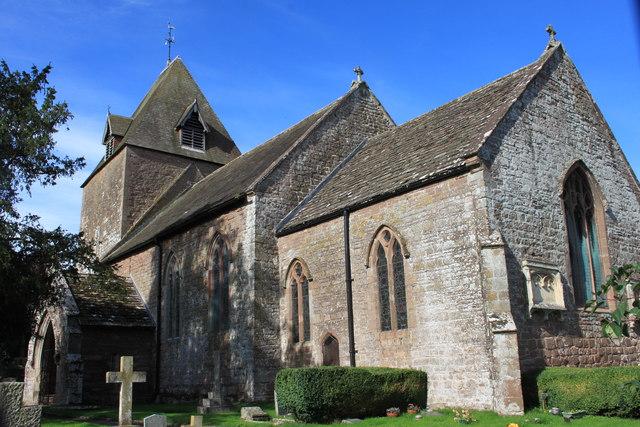 St David's church in Much Dewchurch
