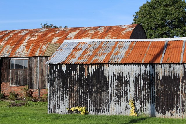 Corrugated Sheds at Mutehill