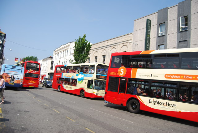 Buses, Churchill Square