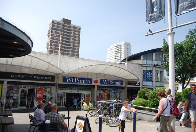 WHSmith, Churchill Square