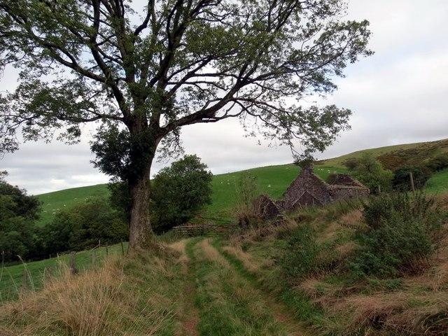 Ffarm Nant Goch Farm, Llanddeusant