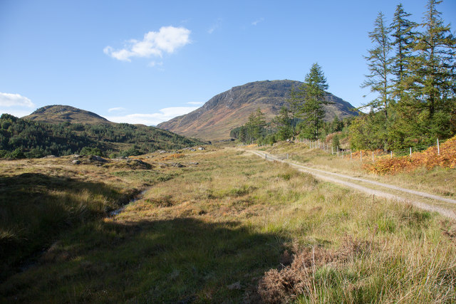 Track leaving Glenmeanie