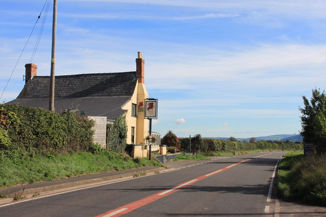 The Red Lion at Winter's Cross
