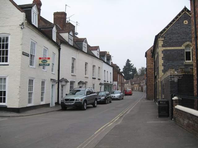 Streets of Much Wenlock 1-Shropshire