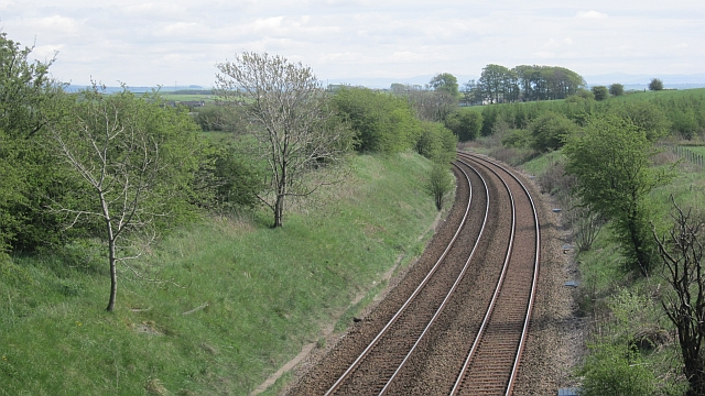 Glasgow to Kilmarnock railway