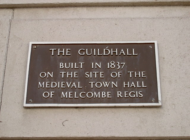 Guildhall plaque