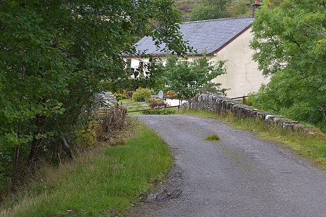 Bridge over the Fionn Lighe