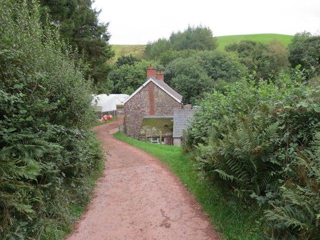 Ffarm Blaen Llechach Farm, Llanddeusant