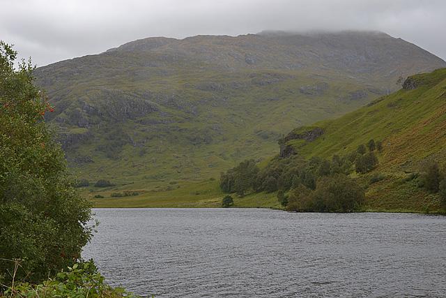 View towards Beinn Odhar Mhòr