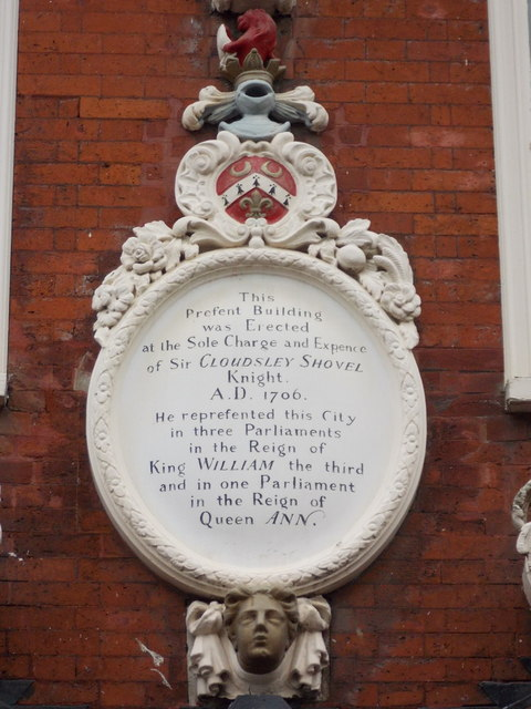 Rochester: plaque on the Clock House