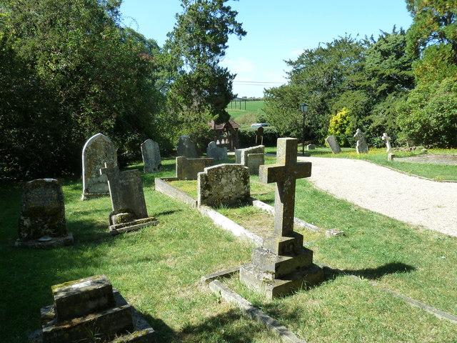 St Thomas, East Orchard: churchyard (II)