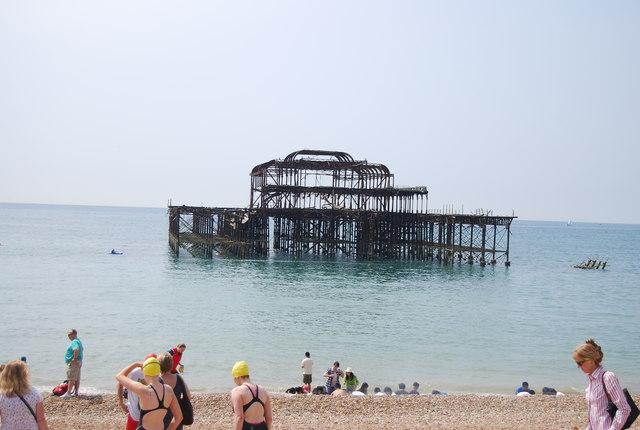 West Pier (rems of)