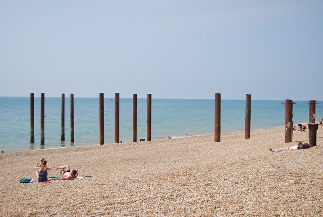 West Pier supports (rems of)