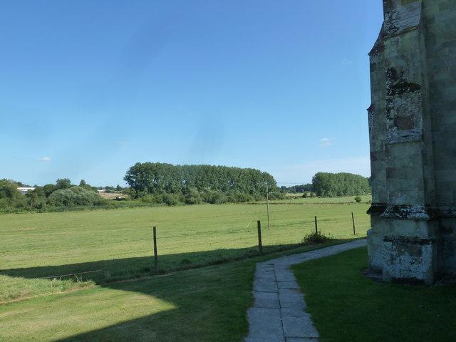 St Martin, Bryanston: path (1)