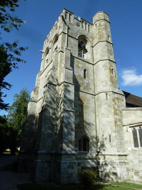 St Martin, Bryanston: tower