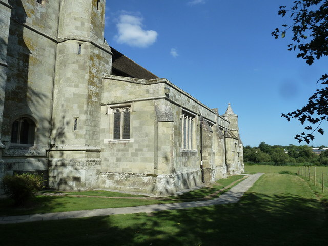 St Martin, Bryanston: path (2)