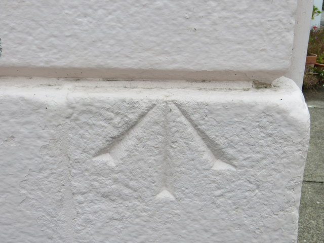 Ordnance Survey Pivot Cut Mark