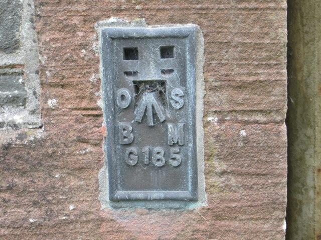 Ordnance Survey Flush Bracket G185