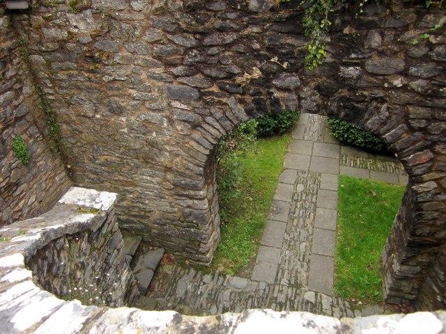 Steps at Dartington