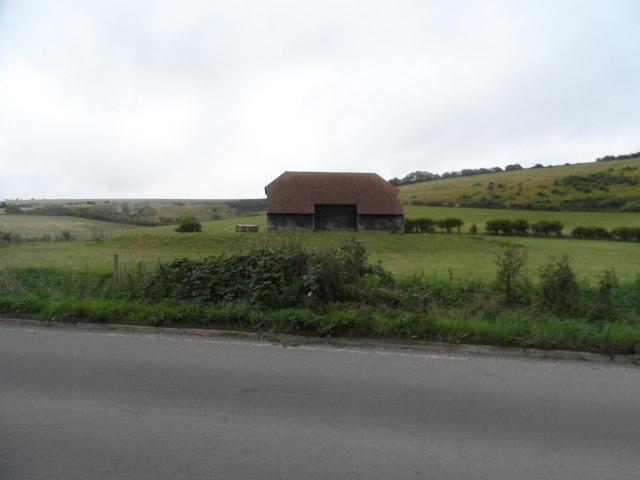 Isolated barn near Castle Town