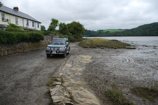 Tidal Ford at Bere Ferrers
