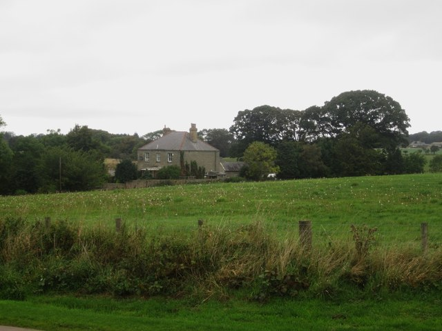Looking towards Holburn Mill Farmhouse