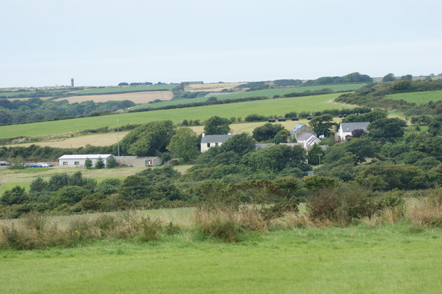 View of Eweston from the east