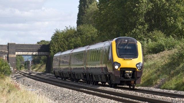 Railway near Churchdown