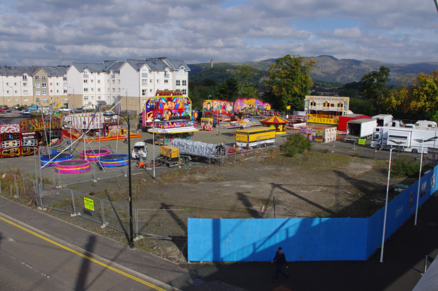 Fun fair, Stirling