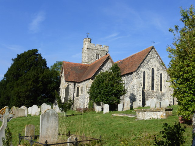 The church of St. Peter and St. Paul, Boughton-under-Blean