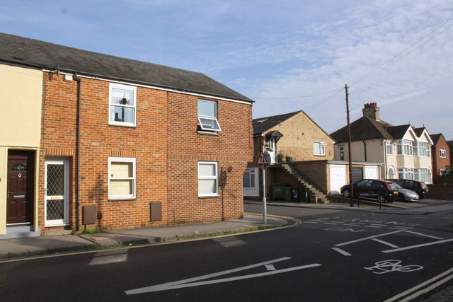 Junction of New High Street and Bateman Street