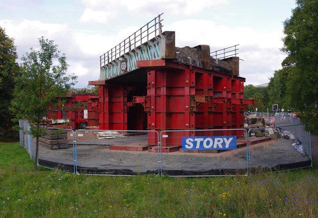 Causewayhead Road railway bridge replacement