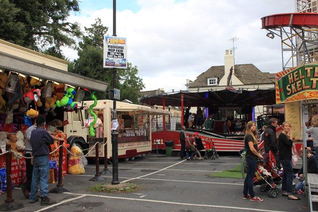 Winchcombe Mop Fair in October 2013