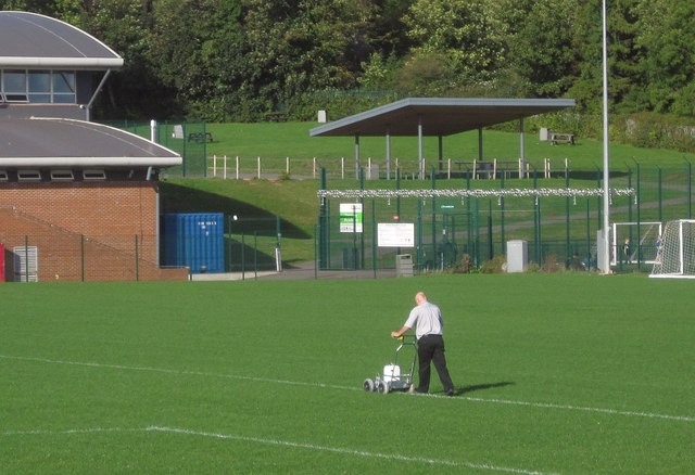 Painting the white lines, Torquay Academy