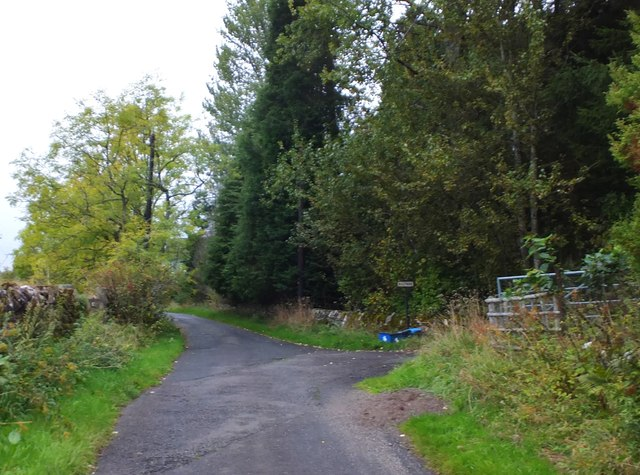 Path from Bridge of Allan to Dunblane