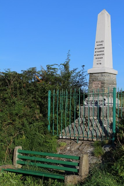 Covenanters' Memorial, Cargilston, near Maybole