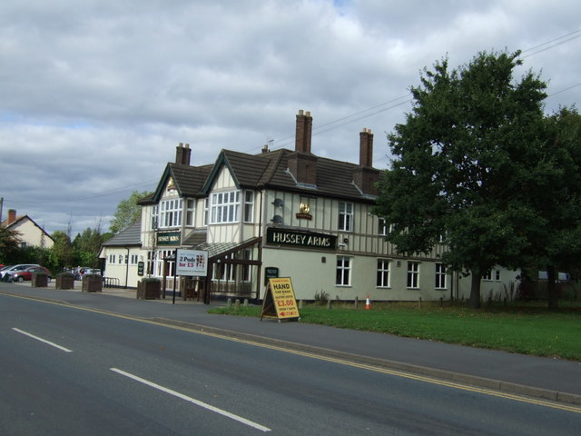 The Hussey Arms pub