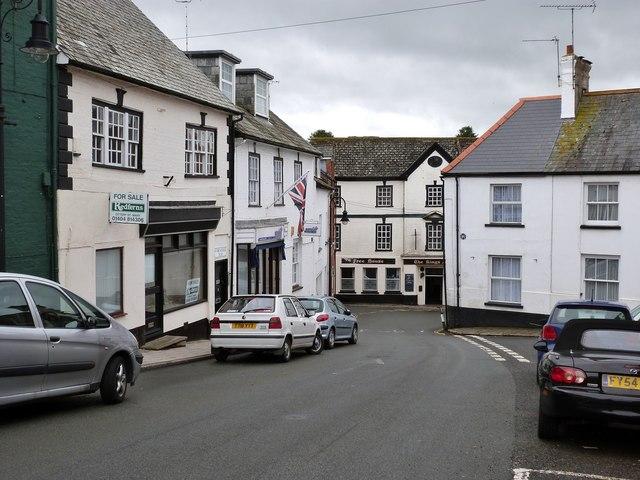 Cornhill, Ottery St. Mary, Devon