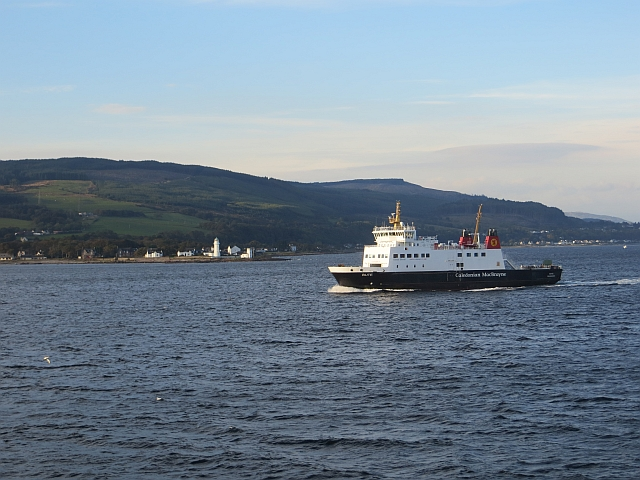MV Bute passes Toward Point