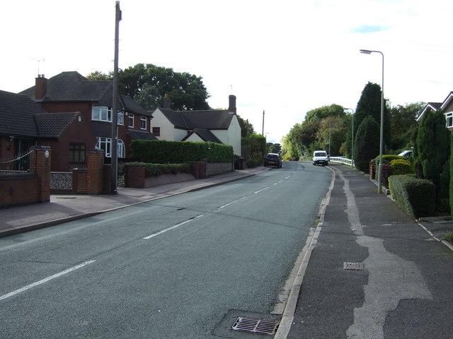 Norton Green Lane, Norton Canes