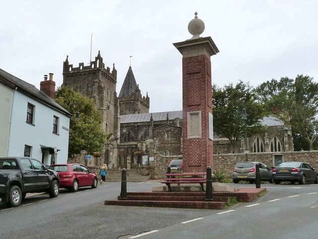 Monument to Queen Victoria's 60 year reign, Ottery St. Mary, Devon