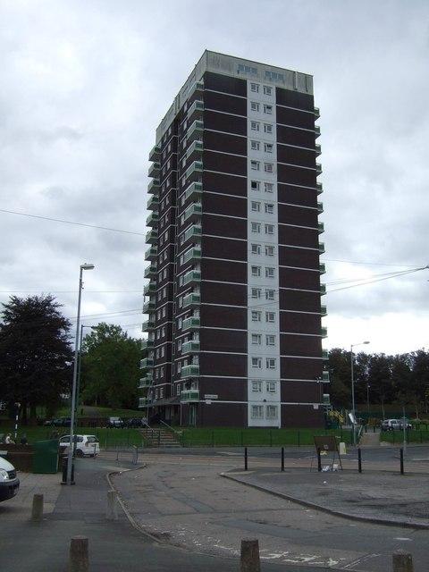 Tower block, Little Bloxwich