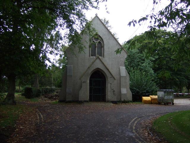 Cemetery chapel, Bloxwich