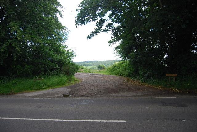 Entrance to Burnt House Farm