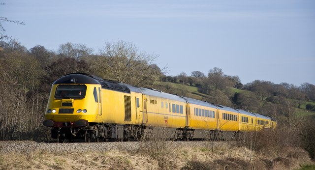 Network Rail's survey train