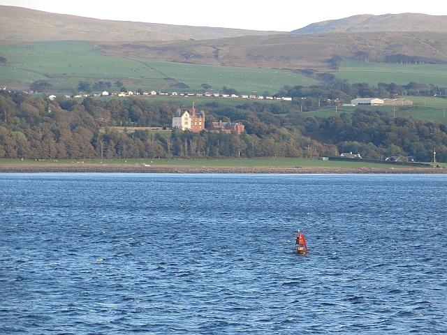 Skelmorlie Channel, port lateral buoy