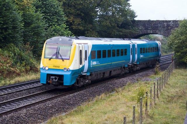 Railway at Penpergwm