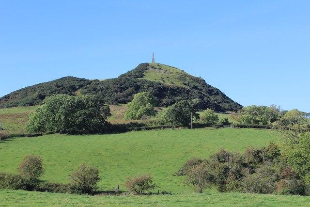 View towards Kildoon Hill