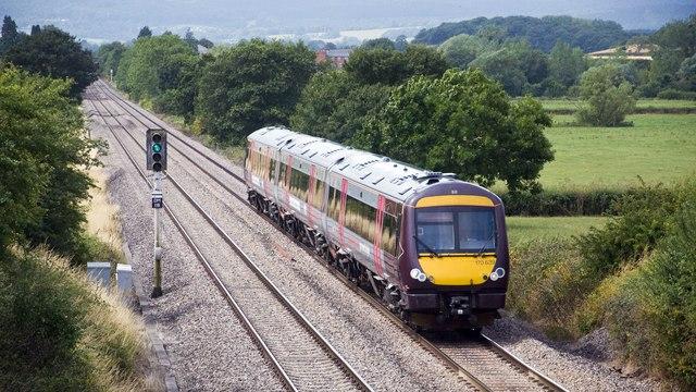Railway near Churcham